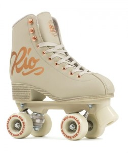 Wrotki RIO ROLLER ROSE CLASSIC cream/GOLD