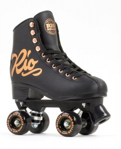 Wrotki RIO ROLLER ROSE CLASSIC black/GOLD