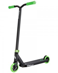 HULAJNOGA WYCZYNOWA CHILLI PRO SCOOTER BASE BLACK/GREEN