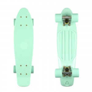 Deskorolka FISH SKATEBOARDS Mint/Mint