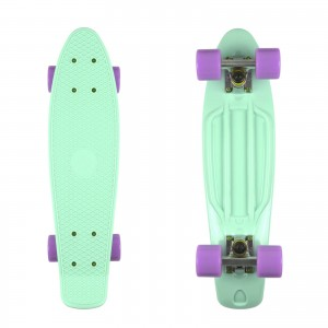 Deskorolka FISH SKATEBOARDS Mint/Lilac
