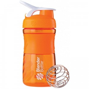 Shaker do odżywek Blender Bottle SportMixer 590ml Orange