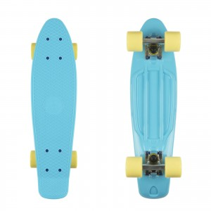 Deskorolka FISH SKATEBOARDS Summer Blue/Yellow