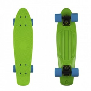 Deskorolka FISH SKATEBOARDS Green/Blue