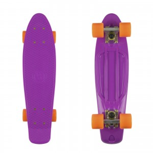 Deskorolka FISH SKATEBOARDS  Purple/Orange