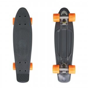 Deskorolka FISH SKATEBOARDS Grey/Orange